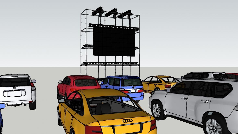 Ecran LED et cinéma en plein air : le combo gagnant