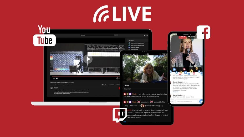 Plateformes de live stream