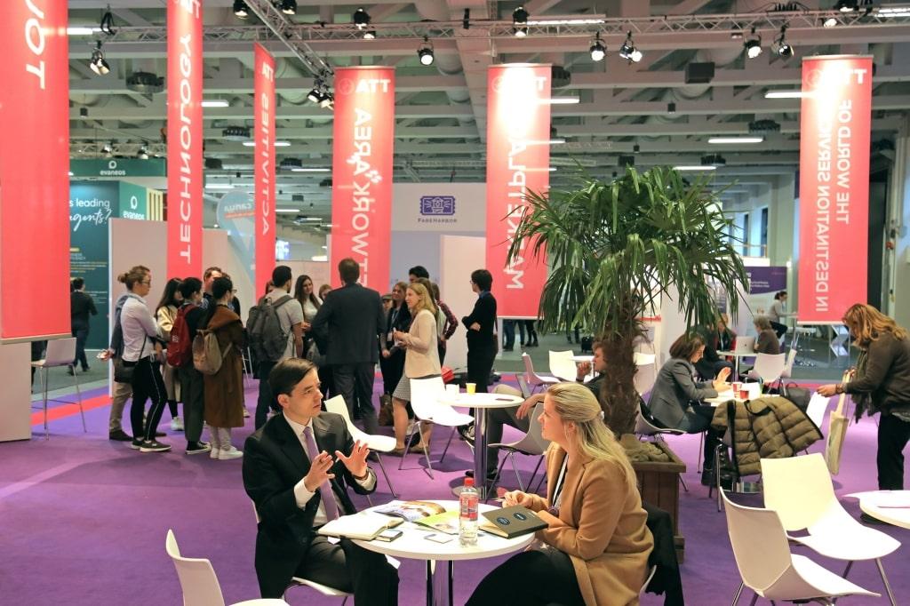 discussions au salon ITB Berlin 2019