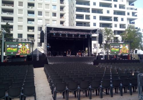 location écran led festival assis