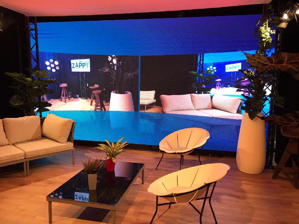 studio live streaming et écrans led